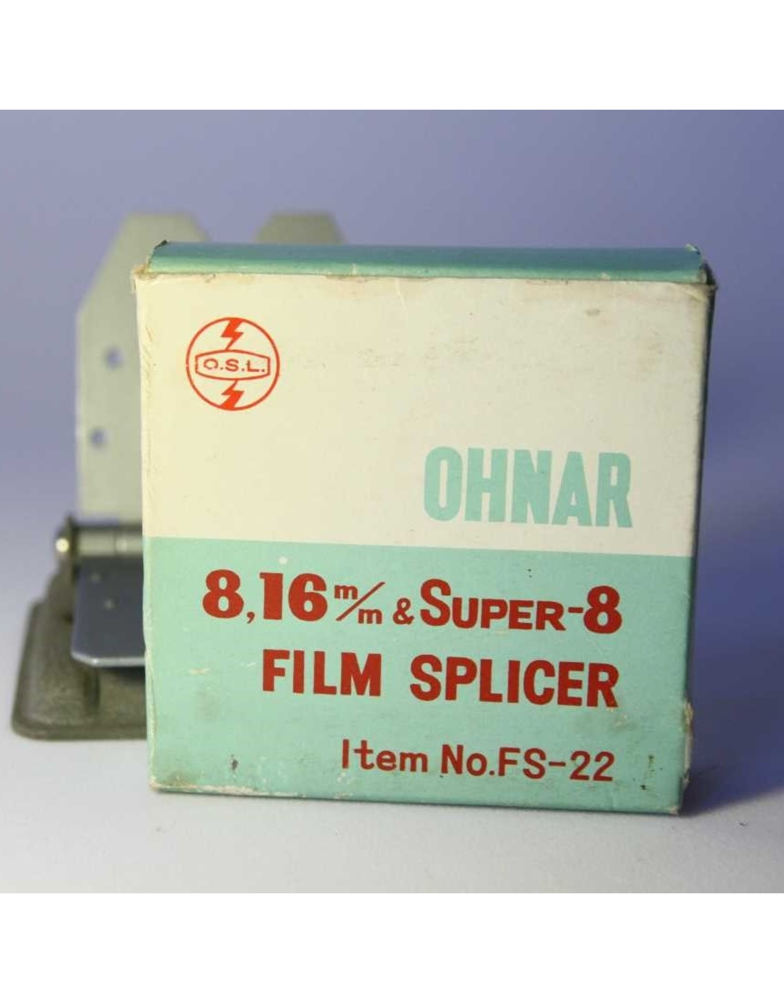 Film splicer - 8mm