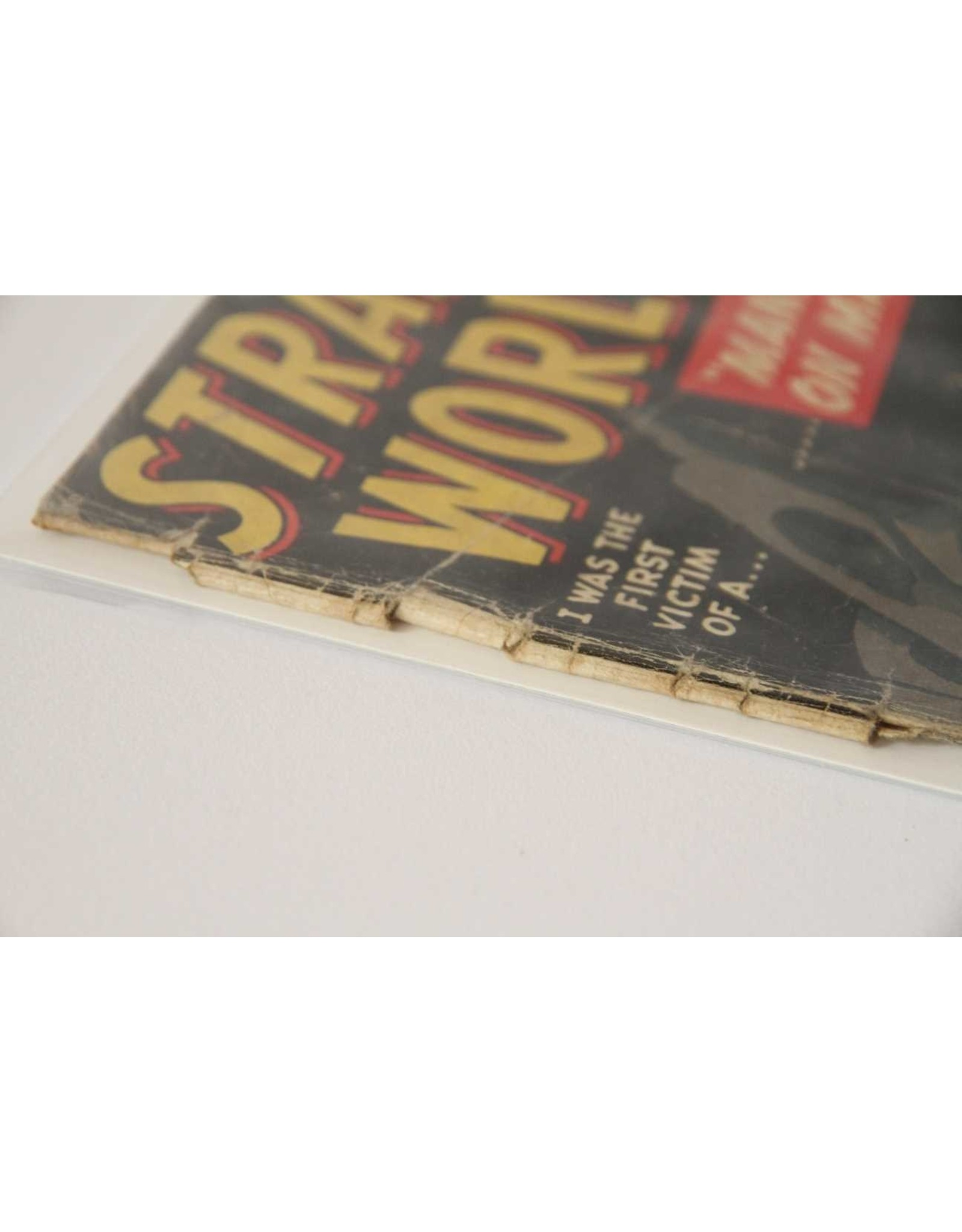 Comic- Strange Worlds, issue 4.