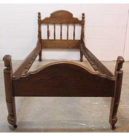 Antique child's bed