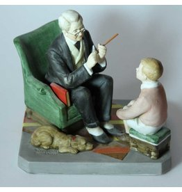 """Words of Wisdom"" Norman Rockwell figurine"