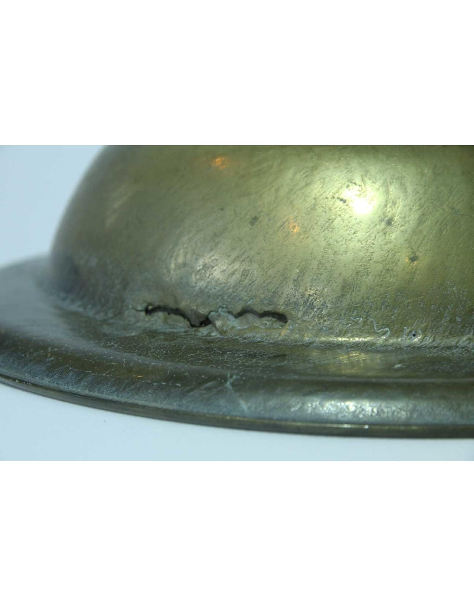 """Brass dish - heavy, 14"""" diameter"""