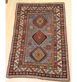 Handknotted carpet with some age