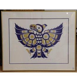 Framed artist's print