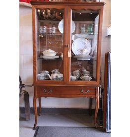 French Provincial display cabinet