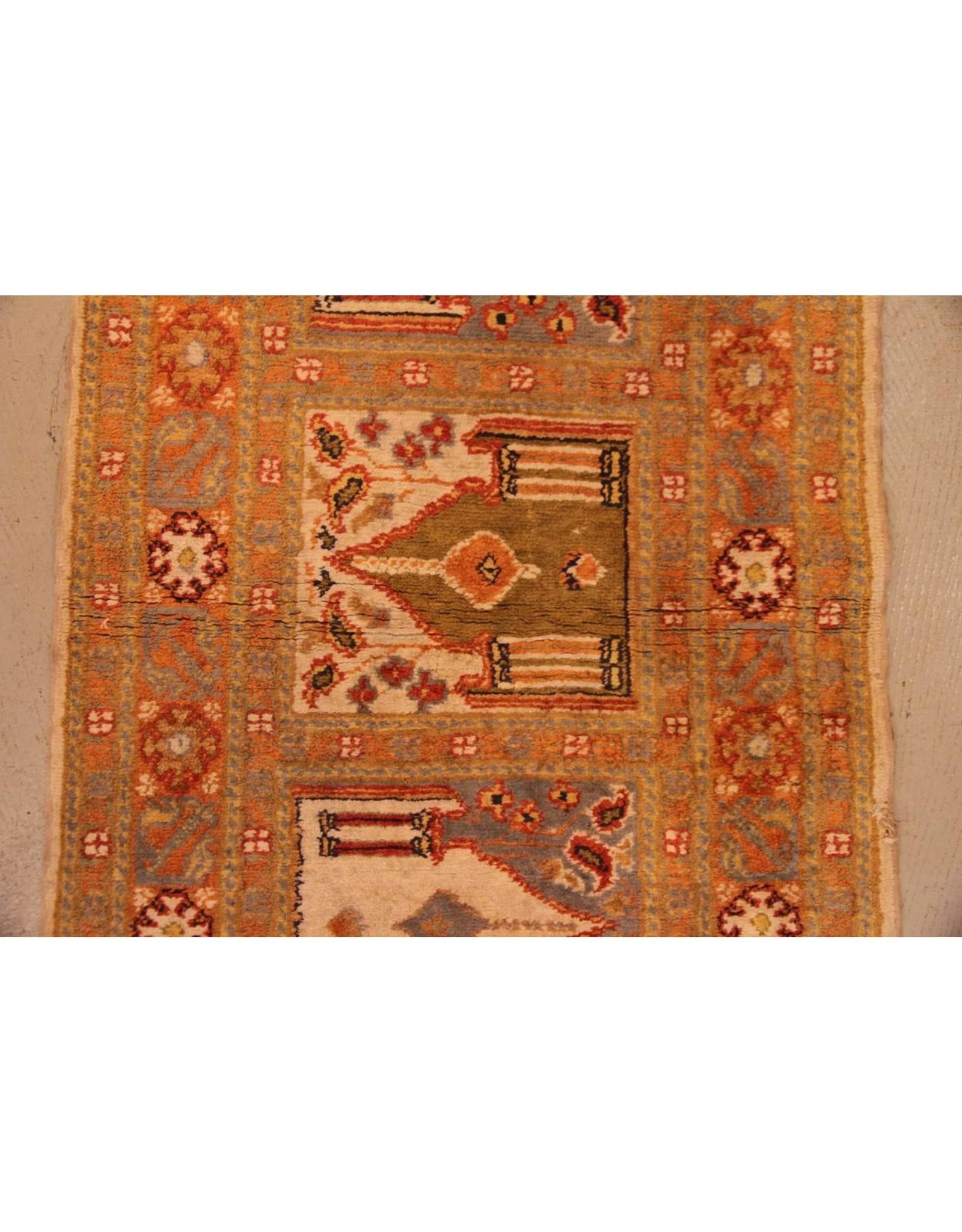 Carpet - runner, 2' x 6', soft green and blue hues
