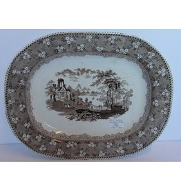 Antique serving platter