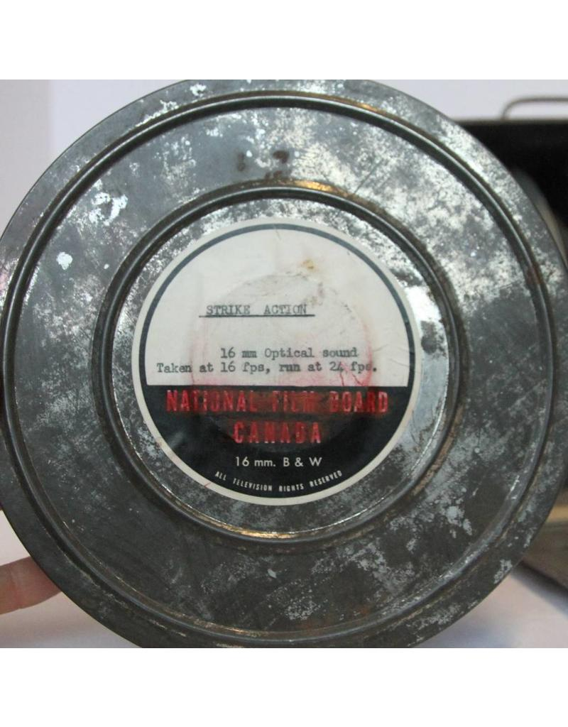 Vintage Movie Reel Cases & Box