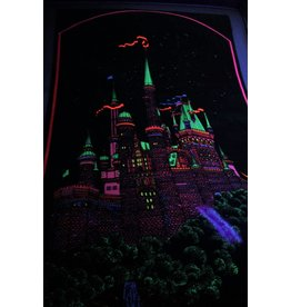 Velvet black light poster