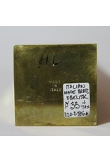 Obelisk - brass, made in Italy