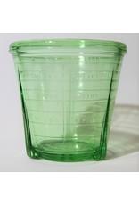 Mixer - electric Vidrio kitchen mixer uranium glass measuring cup base