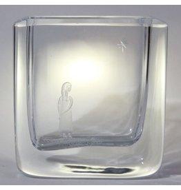 Swedish crystal vase