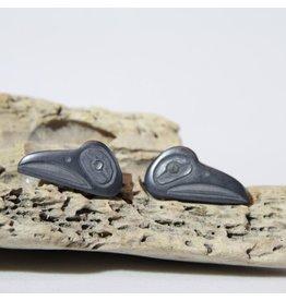 Argillite earrings