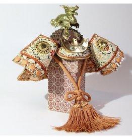 Traditional Japanese Samurai kabuto