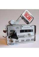 Taxi meter - vintage Nishibe meter with original lever