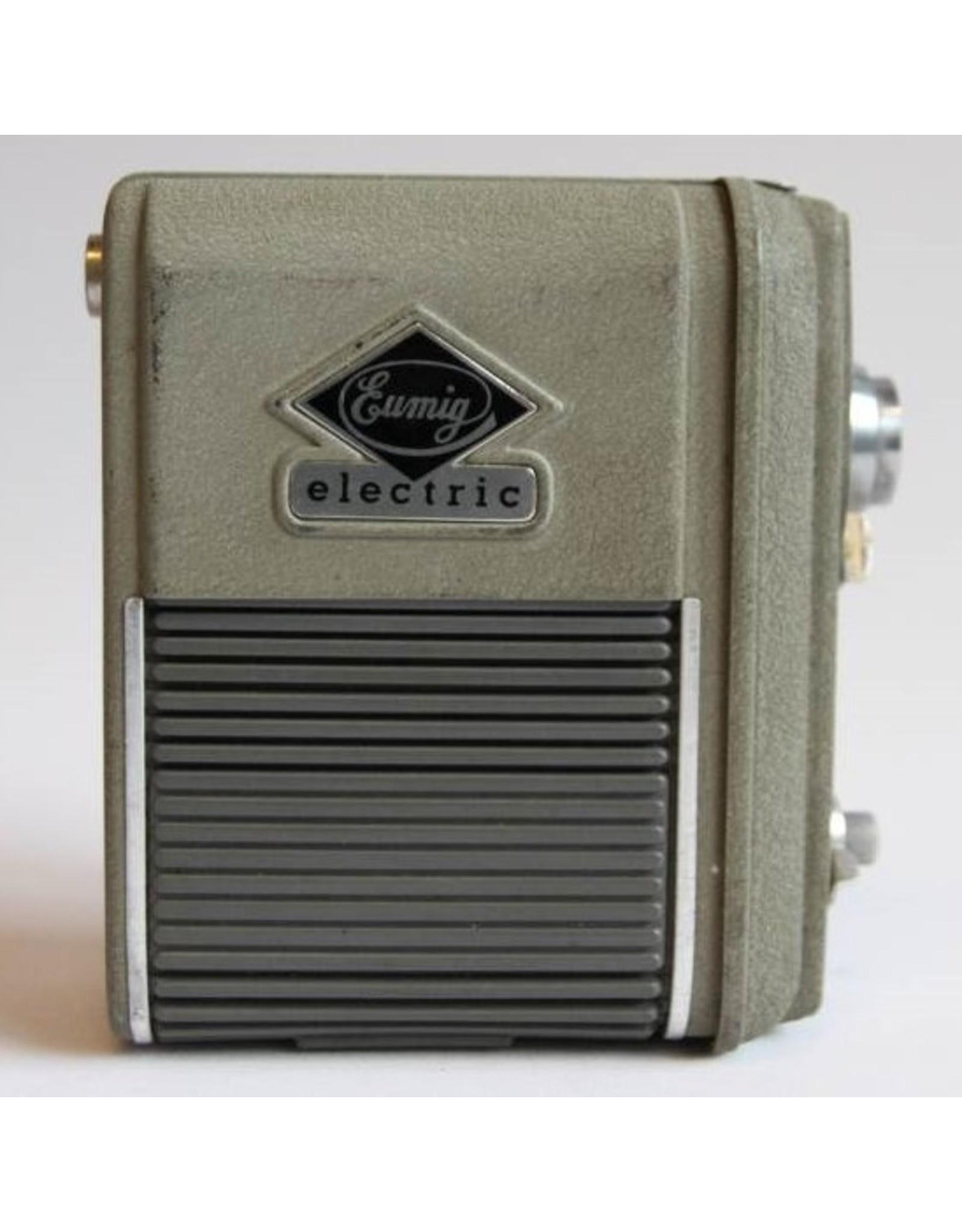 Camera - Eumig 8mm film movie camera Austria 1950s