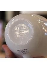 Mug - milk glass Pyrex, plain