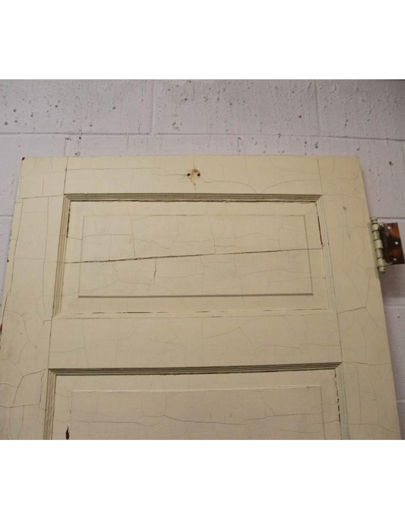 Door - wooden, five panel, interior, 30 x 77