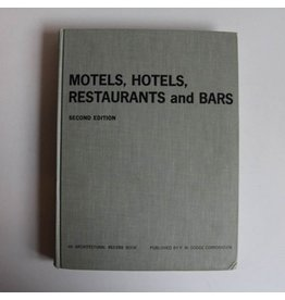 Hardcover - Motels, Hotels, and Restaurants