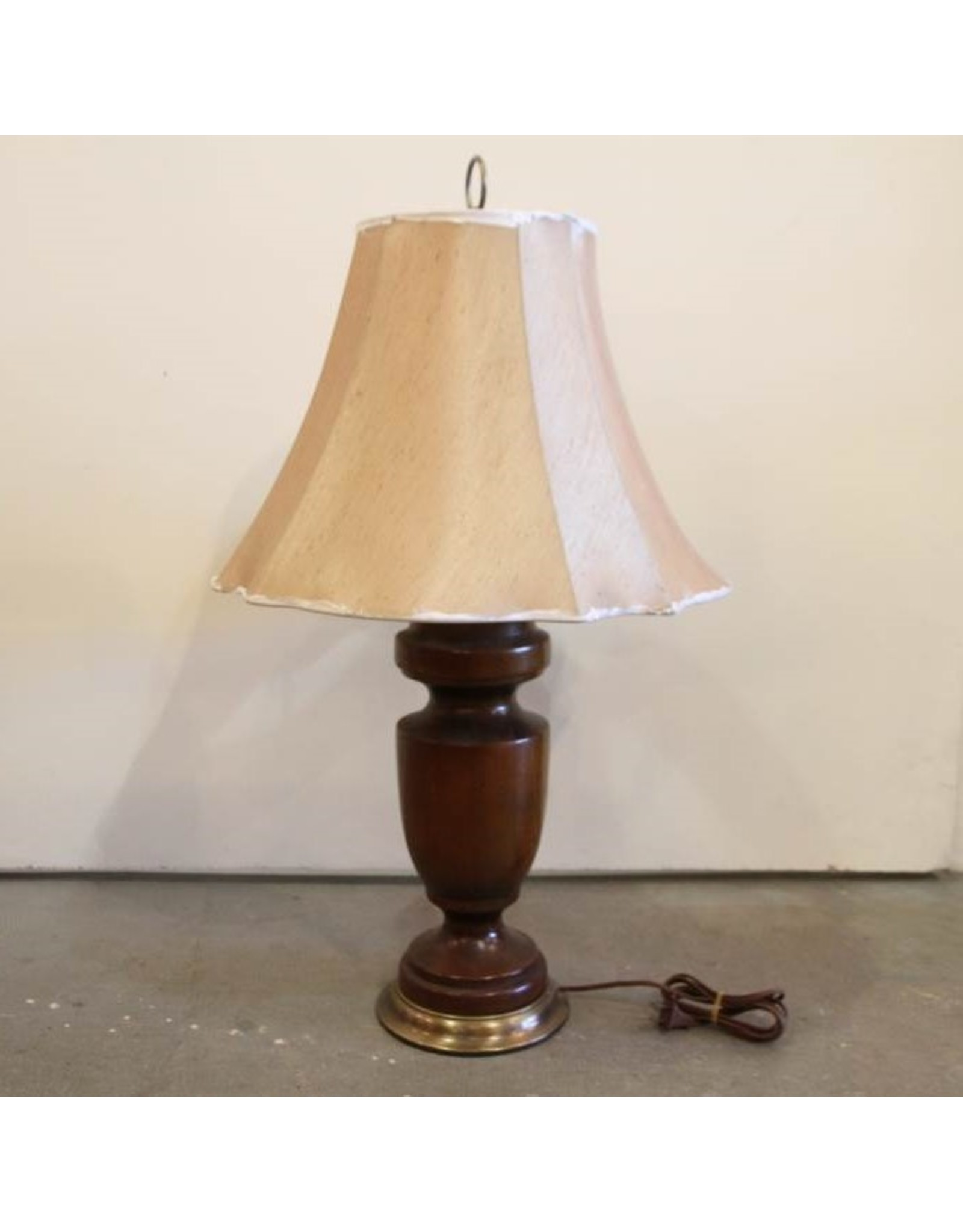 Pair of Antique wooden Lamps