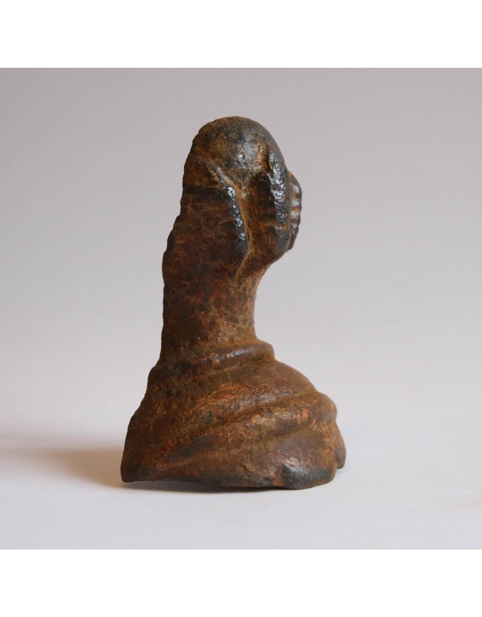 Clawfoot tub foot - cast iron, rusty