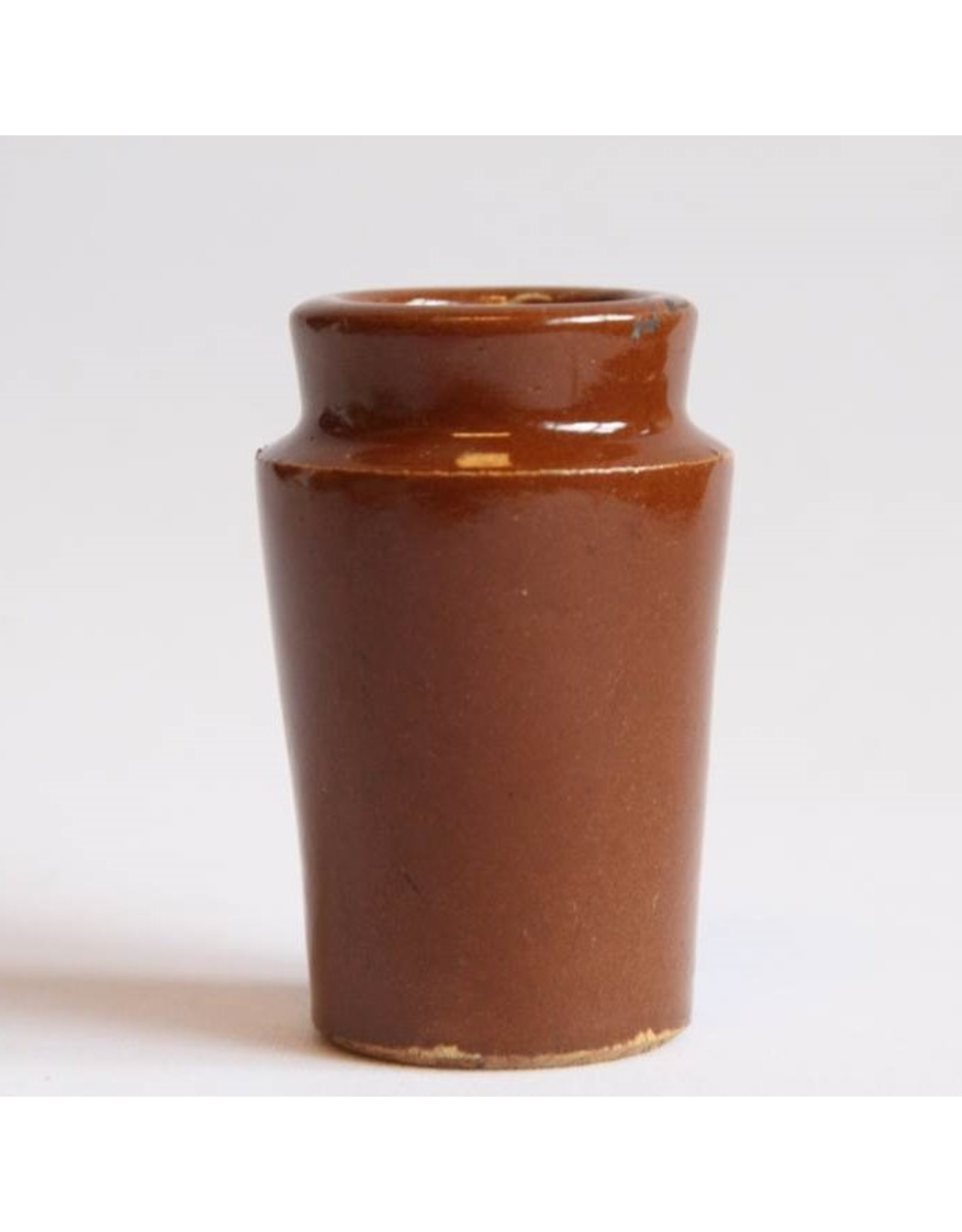 Pot - stoneware cream