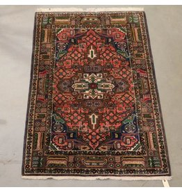 Colourful Persian area carpet