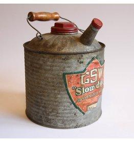 GSW galvanized jug