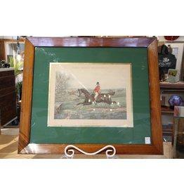 Vintage framed engraving