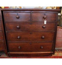Victorian  five drawer dresser