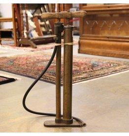 Vintage brass tire pump