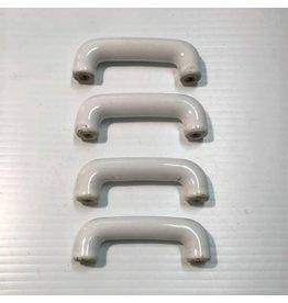 Porcelain drawer pulls