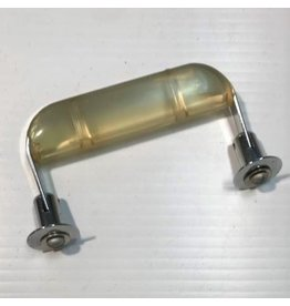 Single Lucite drawer pull