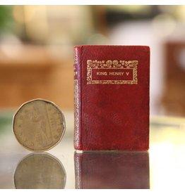 Miniature antique Shakespeare