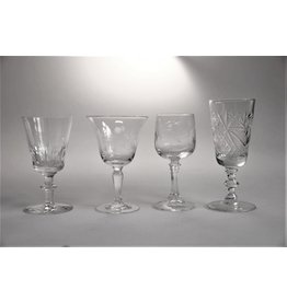 Assorted sipping glasses