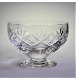 Set of crystal dessert bowls