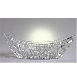 Pinwheel crystal dish