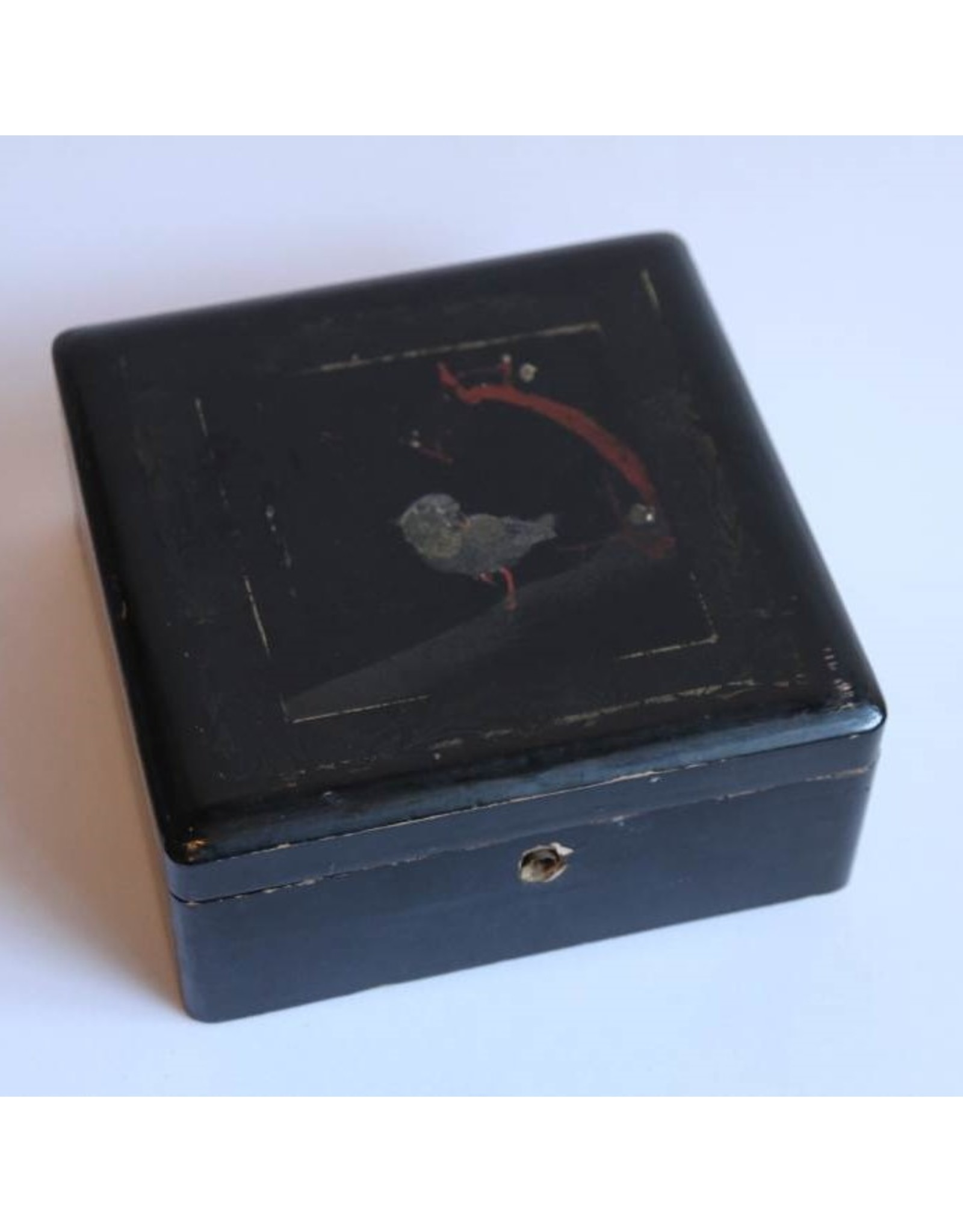JAPAN BIRD TRINKET Box