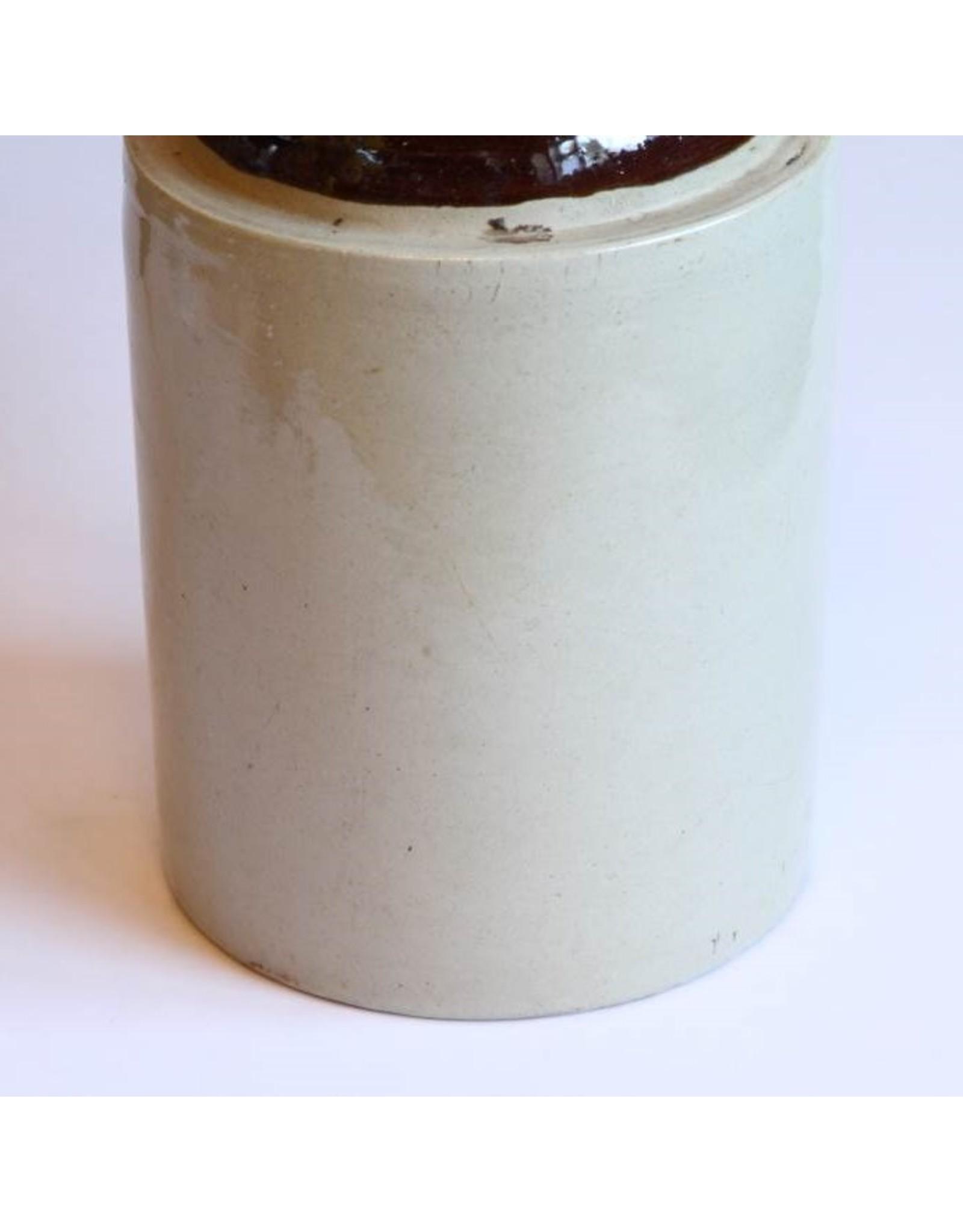 Jug - two gallon, stoneware, whisky shoulder jug