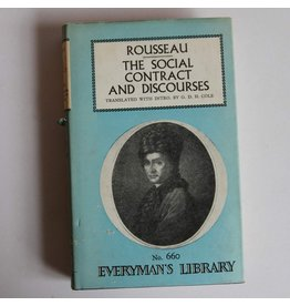 The Social Contract and Discourses by Rousseau