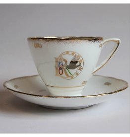 Daughters of Rebekah teacup and saucer