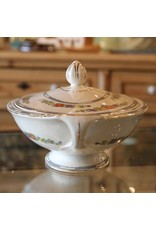 Serving dish with lid - Meakin china, England, double handled
