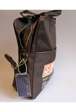 Bag - Canadian Pacific Air (CP Air) brown Expo 86 travel bag