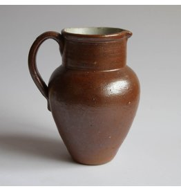 Salt-glazed pottery jug