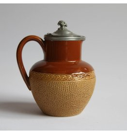 Small Lovatts Pottery jug with lid
