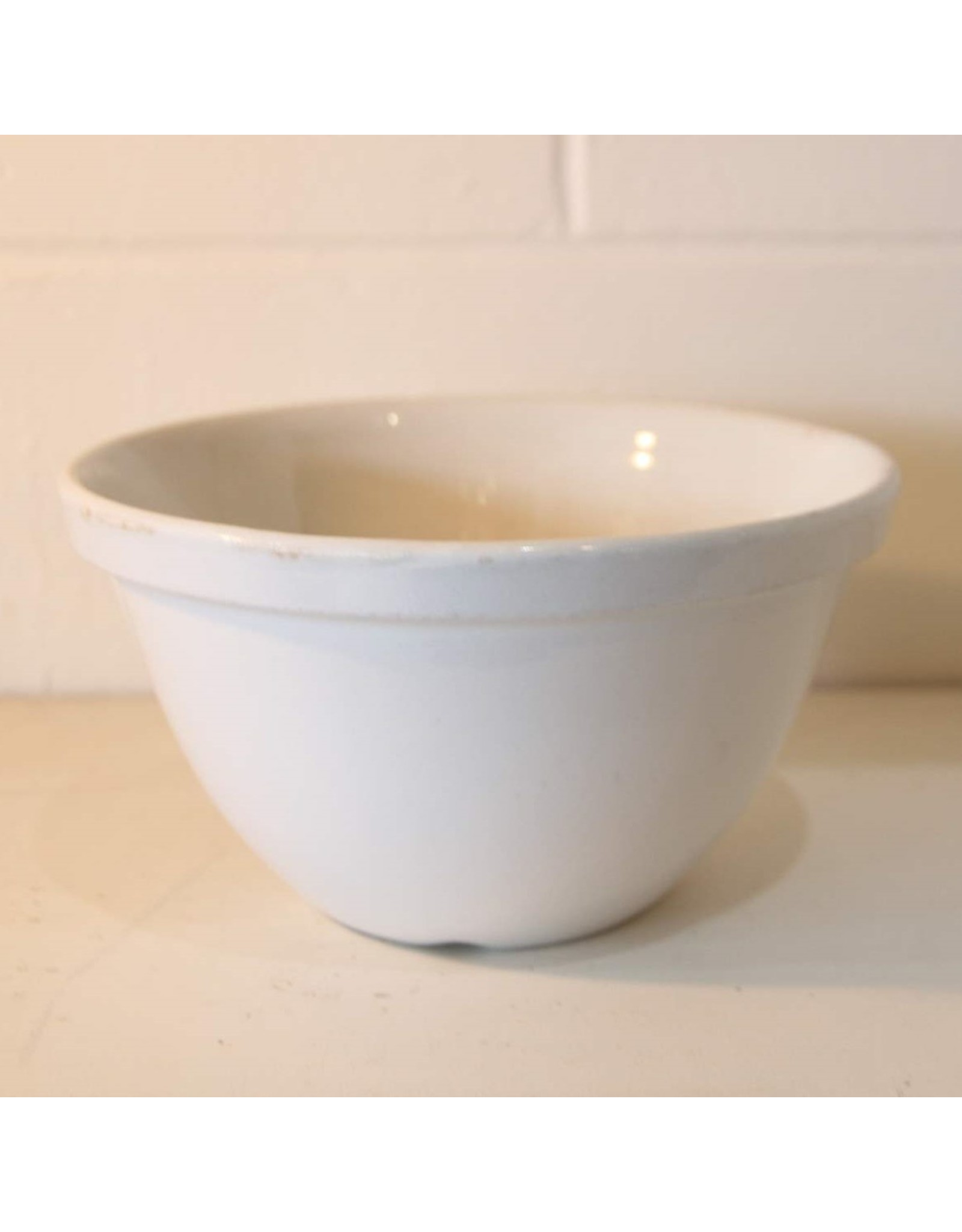 Mixing bowl - ironstone, W Adams & Sons, England