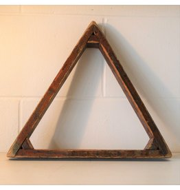 Wooden snooker triangle