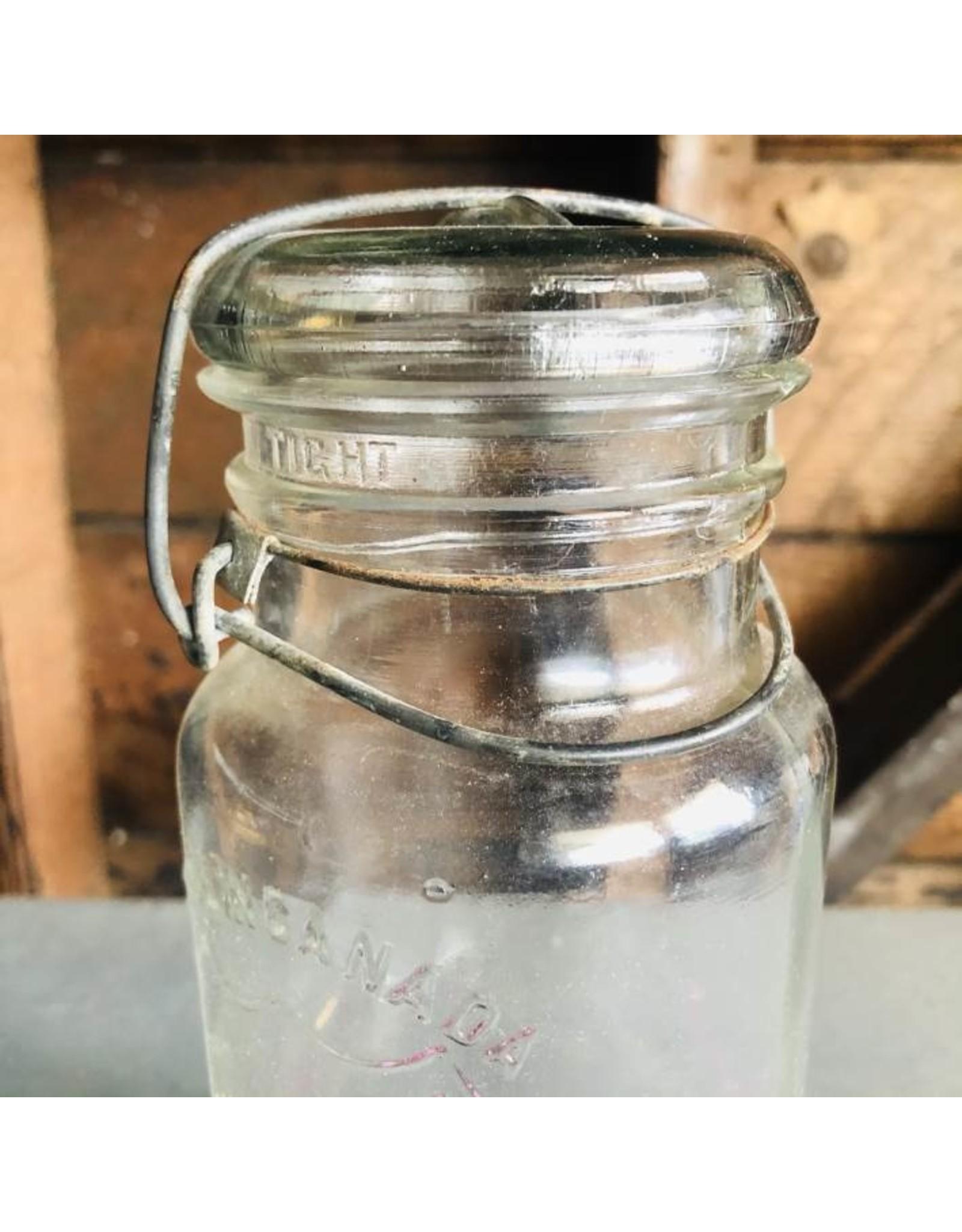 Perfect seal jar