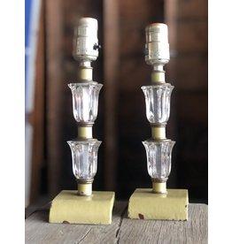 Pair of vintage lamp bases