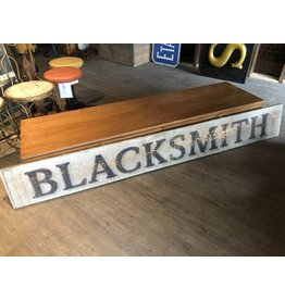 "Double-sided ""Blacksmith"" sign"