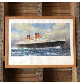 "Cunard ""Queen Elizabeth"" poster"